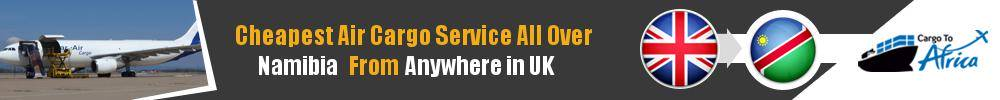 Send Cargo to Anywhere in Namibia from Anywhere in UK