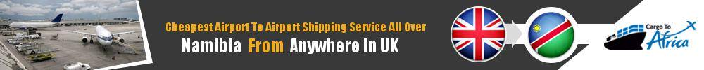 Send Cargo to Any Airport in Namibia from Any UK Airport