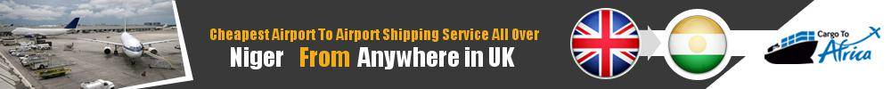 Send Cargo to Any Airport in Niger from Any UK Airport