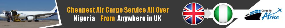 Send Cargo to Anywhere in Nigeria from Anywhere in UK