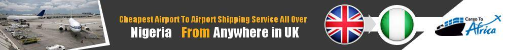 Send Cargo to Any Airport in Nigeria from Any UK Airport