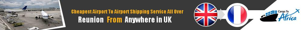 Send Cargo to Any Airport in Reunion from Any UK Airport