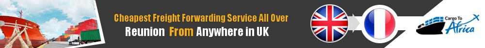 Cheapest Freight Forwarding to Reunion from UK
