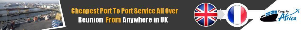 Send Sea Cargo to Any Port in Reunion from Any UK Port