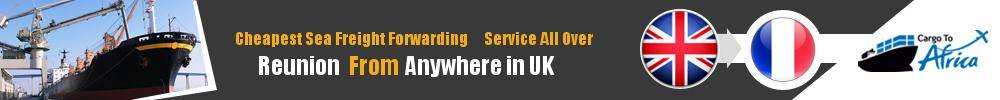 Cheapest Sea Freight Forwarding to Reunion from UK
