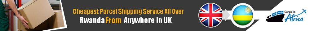 Cheapest Parcel Shipping to Rwanda from UK