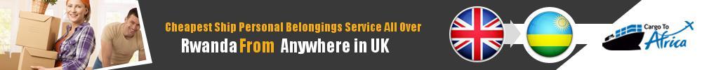 Send Personal Belongings to Rwanda by Air & Sea Cargo