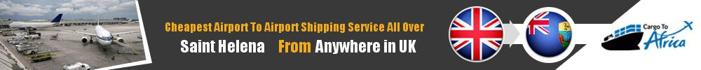 Send Cargo to Any Airport in Saint Helena from Any UK Airport