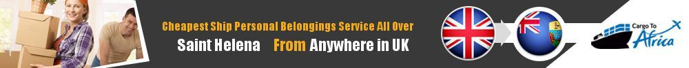 Send Personal Belongings to Saint Helena by Air & Sea Cargo