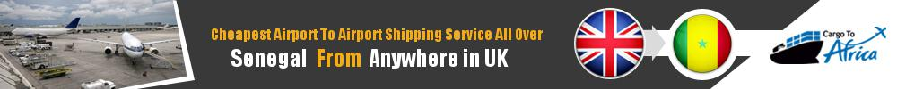 Send Cargo to Any Airport in Senegal from Any UK Airport