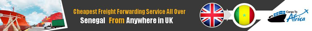 Cheapest Freight Forwarding to Senegal from UK