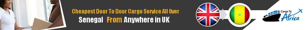 Send Sea Cargo to All Over Senegal from Any UK Port