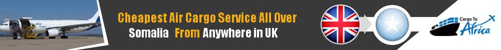 Send Cargo to Anywhere in Somalia from Anywhere in UK