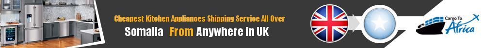 Send Kitchen Appliances to Somalia from UK