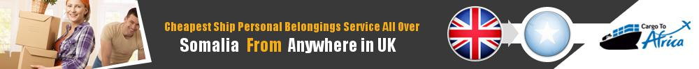 Send Personal Belongings to Somalia by Air & Sea Cargo
