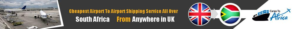 Send Cargo to Any Airport in South Africa from Any UK Airport
