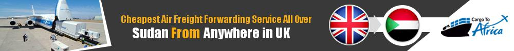 Cheapest Air Freight Forwarders to Sudan from UK