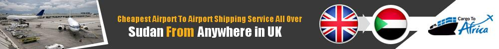 Send Cargo to Any Airport in Sudan from Any UK Airport