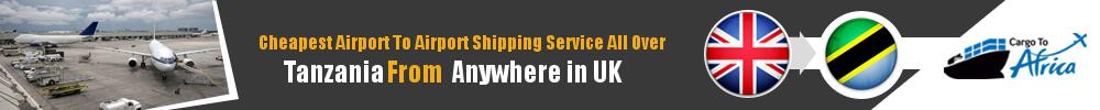 Send Cargo to Any Airport in Tanzania from Any UK Airport