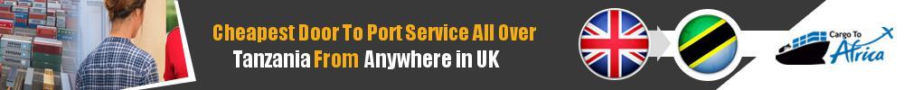 Send Sea Cargo to Any Port in Tanzania from Any UK Area