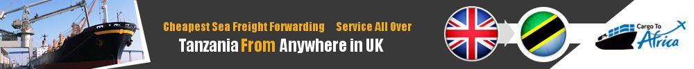 Cheapest Sea Freight Forwarding to Tanzania from UK