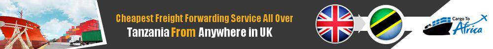 Cheapest Freight Forwarding to Tanzania from UK