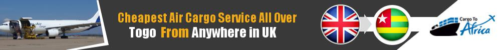 Send Cargo to Anywhere in Togo from Anywhere in UK