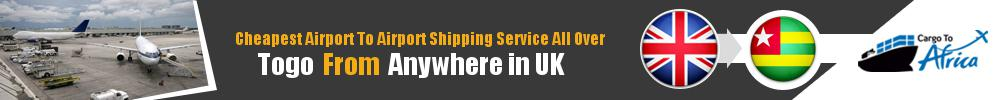 Send Cargo to Any Airport in Togo from Any UK Airport