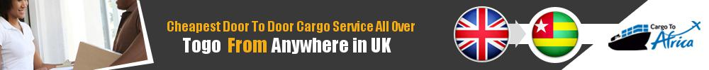 Send Sea Cargo to All Over Togo from Any UK Port