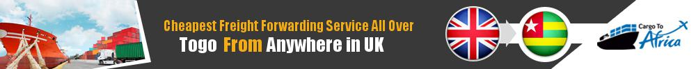 Cheapest Freight Forwarding to Togo from UK