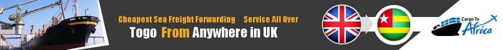 Cheapest Sea Freight Forwarding to Togo from UK