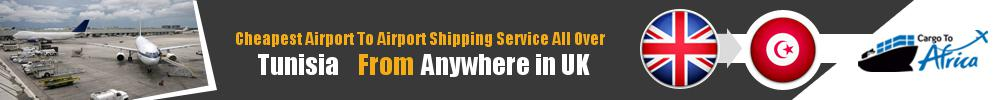 Send Cargo to Any Airport in Tunisia from Any UK Airport
