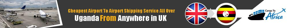 Send Cargo to Any Airport in Uganda from Any UK Airport