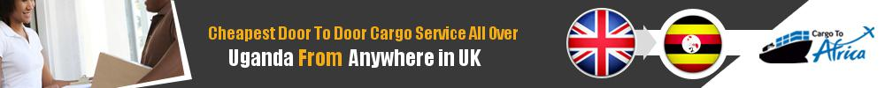Send Sea Cargo to All Over Uganda from Any UK Port