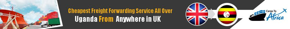 Cheapest Freight Forwarding to Uganda from UK