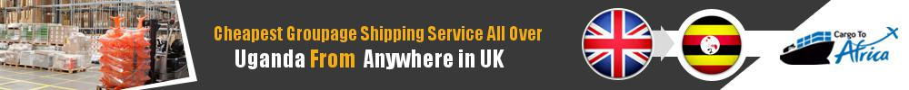 Cheapest Groupage Shipping to Uganda from UK