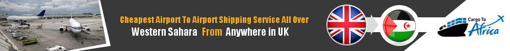 Send Cargo to Any Airport in Western Sahara from Any UK Airport