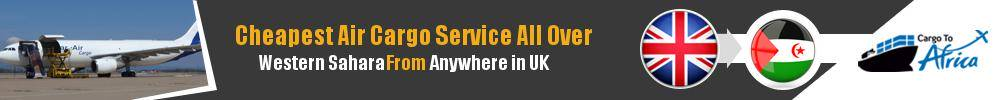 Send Cargo to Anywhere in Western Sahara from Anywhere in UK