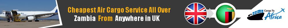 Send Cargo to Anywhere in Zambia from Anywhere in UK