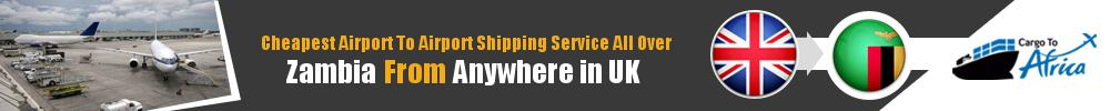Send Cargo to Any Airport in Zambia from Any UK Airport