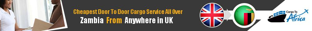 Send Sea Cargo to All Over Zambia from Any UK Port