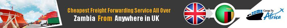 Cheapest Freight Forwarding to Zambia from UK