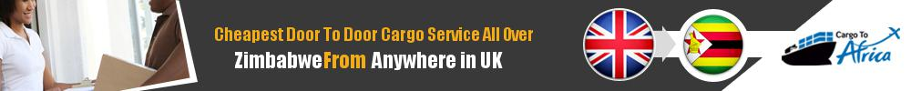 Send Sea Cargo to All Over Zimbabwe from Any UK Port