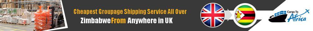 Cheapest Groupage Shipping to Zimbabwe from UK