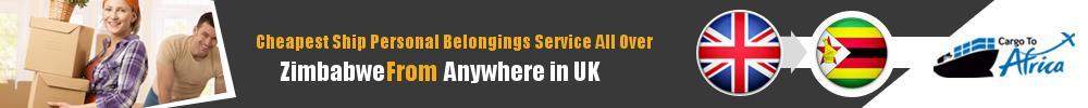 Send Personal Belongings to Zimbabwe by Air & Sea Cargo