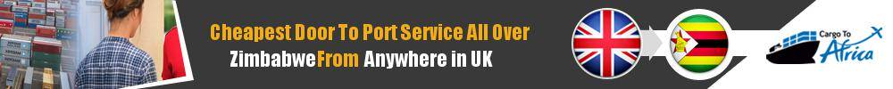 Send Sea Cargo to Any Port in Zimbabwe from Any UK Area