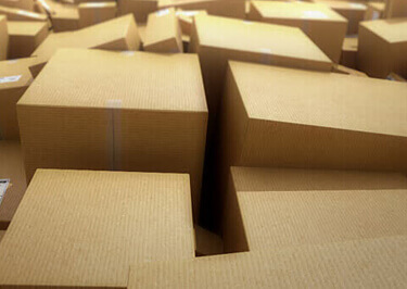 Cardboard Boxes to Africa