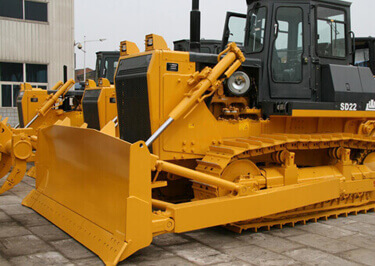 Dozers Shipping to Africa
