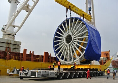 Industrial Machinery Shipping from Glasgow to Africa