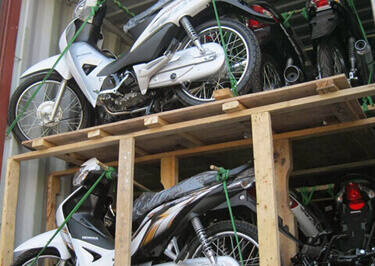 Motorcycle Shipping  to Ethiopia